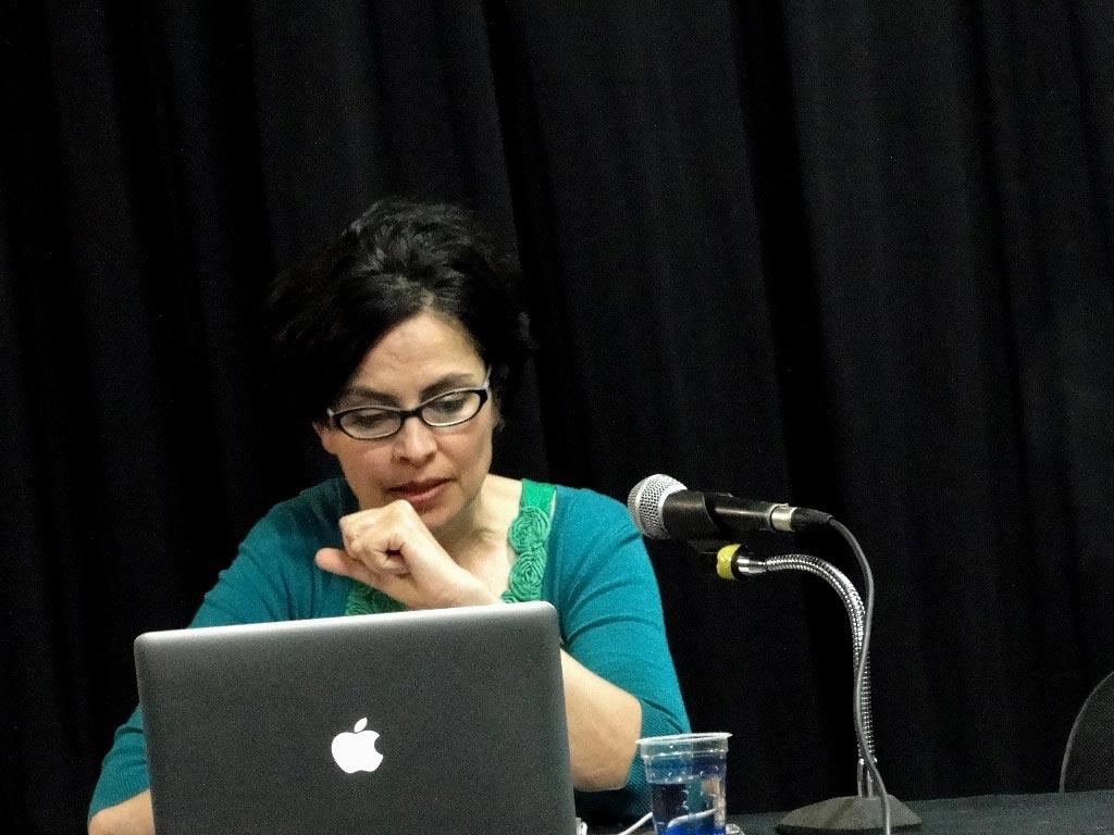 Palestra com Claudia Fontes (Argentina/Inglaterra)